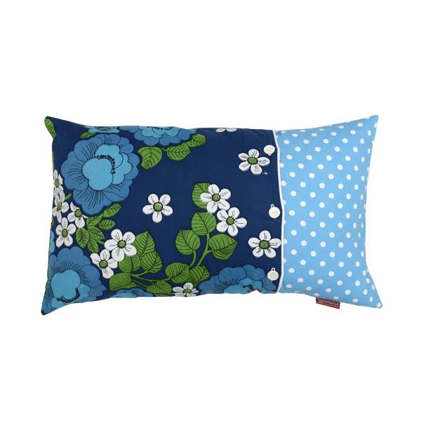 Blue floral vintage small, 50x30cm