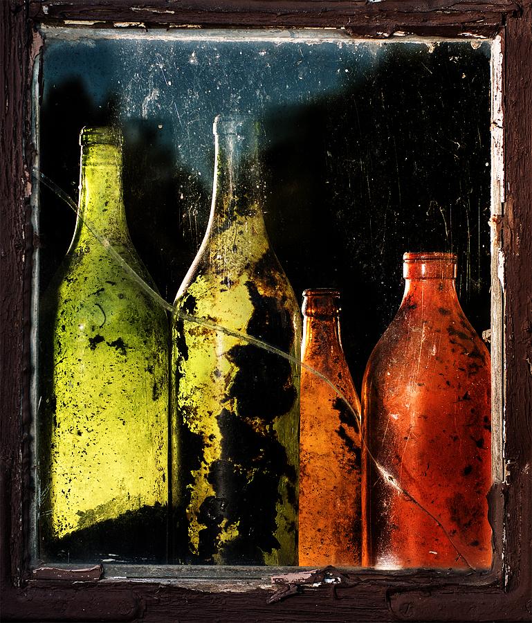 Flaskor i Väte