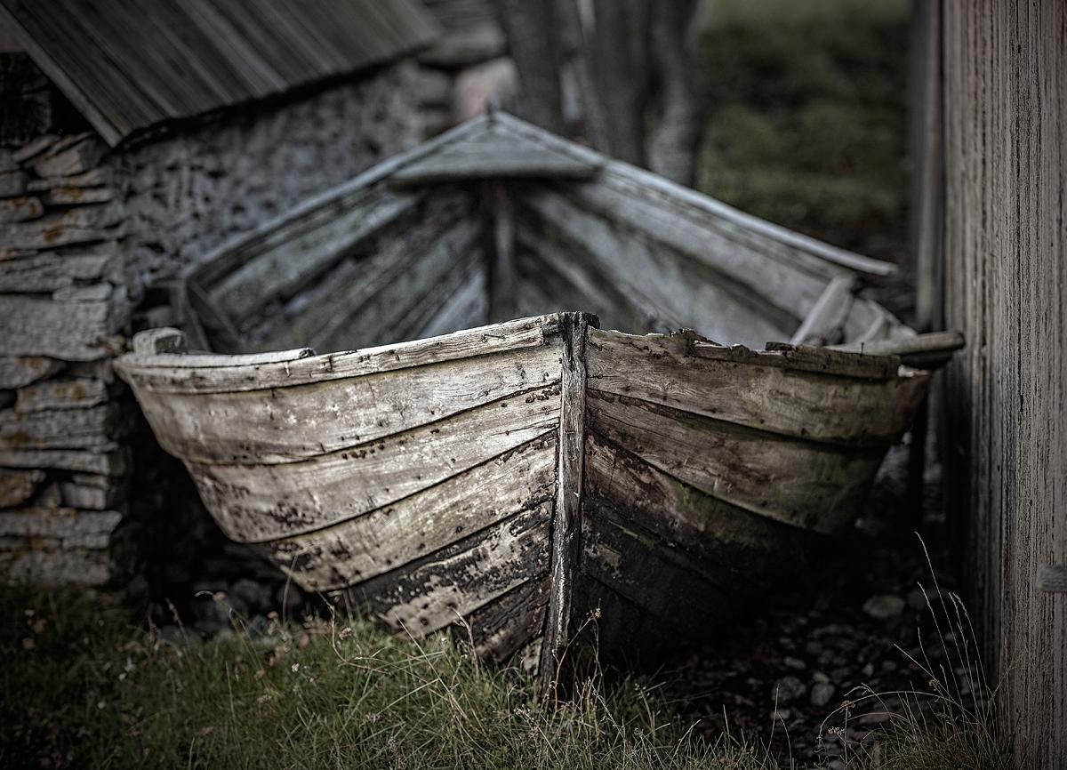Båt i Kovik