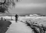 Gotlandsbilder - Stormen Sven slår till mot Visby