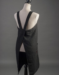 Black apron back 2
