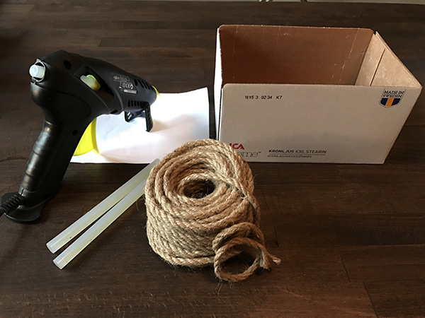 Jute rope basket 1