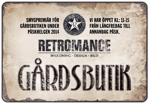 Gotland Retromance Gårdbutik