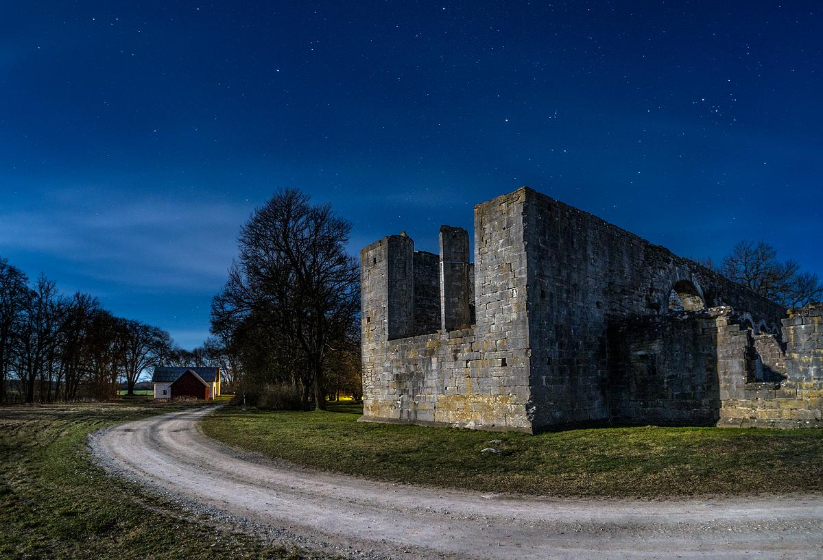 Gotland Roma Ruin Natt