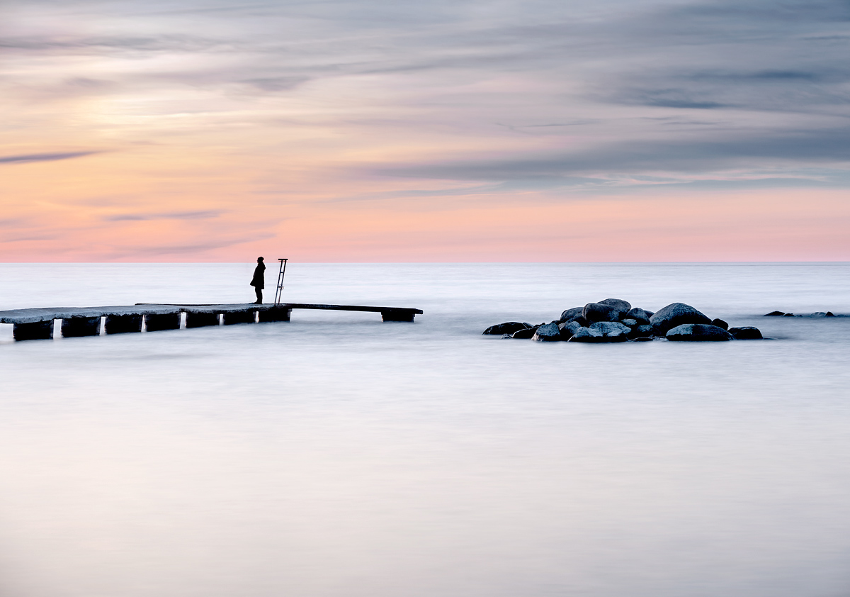 Gotland VIsby Tott Brygga Tjej