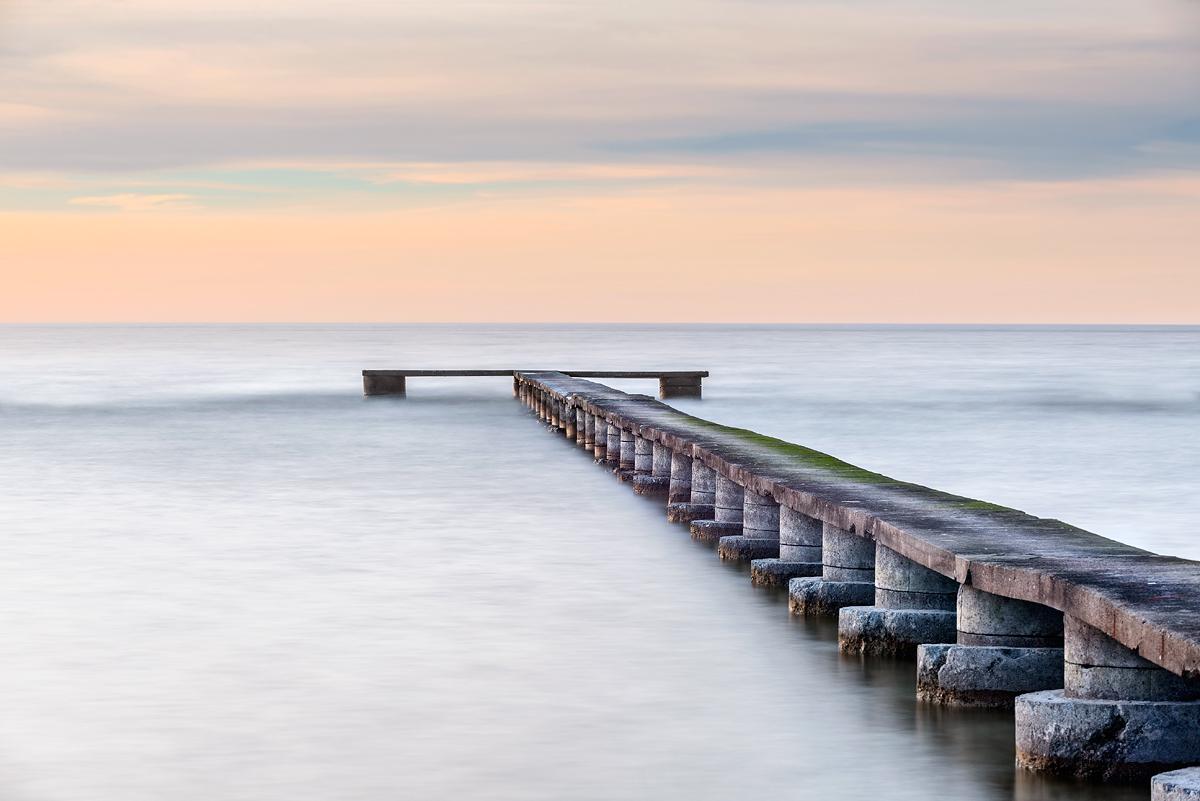 Gotland Visby Norderstrand Solnedgång
