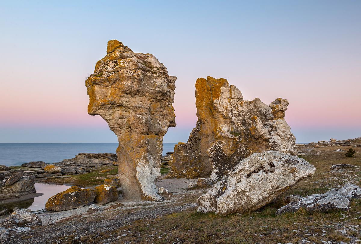 Gotland Asunden Raukar