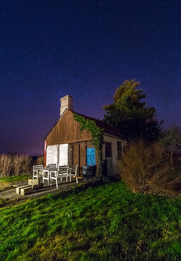 Gotland Väte Natt Redskapsbod